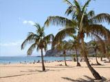 één van de vele stranden van ibiza