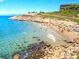 salou idyllisch strand