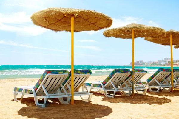 strand van torremolinos