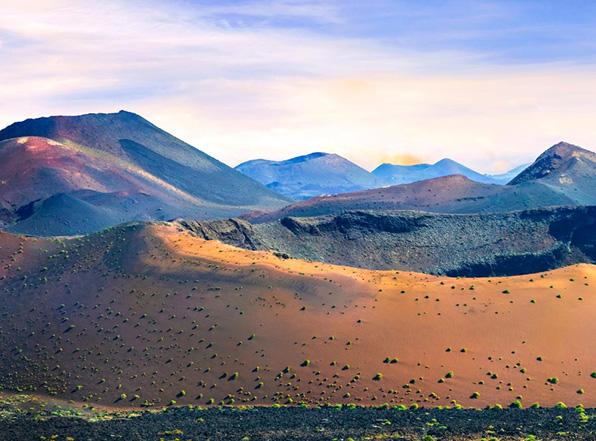 vulkanen op lanzartote